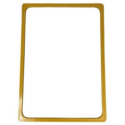 Wanzl - Plastový plakátový rámeček 100, A3, žlutý