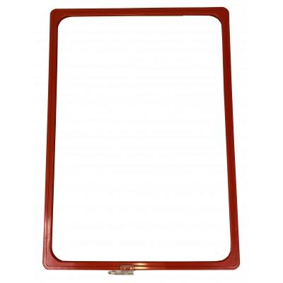 Wanzl - Plastový plakátový rámeček 100, A3, červená