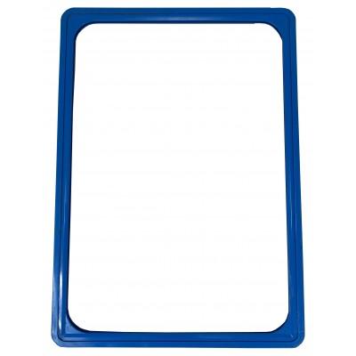 Wanzl - Plastový plakátový rámeček, A5 , Modrý