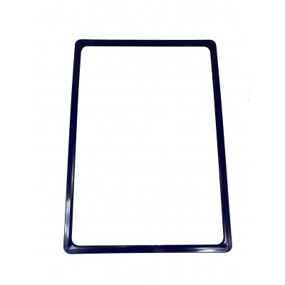 Wanzl - Plastový plakátový rámeček, A2 , Modrý