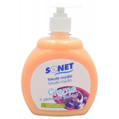 Sonet tekuté mýdlo s glycerínem Oranžovo medové 500 ml