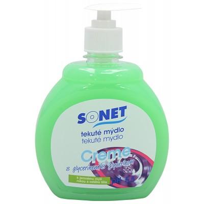 Sonet tekuté mýdlo s glycerínem Zelené Apple Olive 500 ml