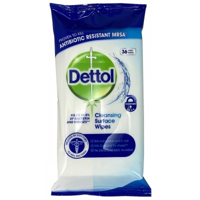 Dettol Antibacterial Cleansing Surface Wipes