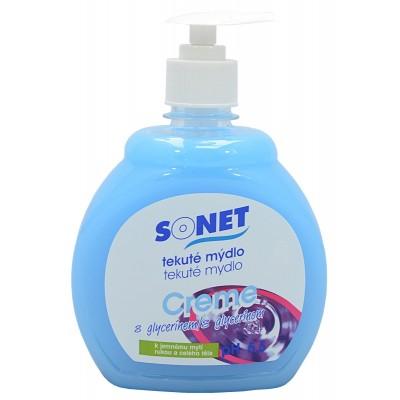 Sonet tekuté mýdlo s glycerínem Modré Blue Air 500 ml