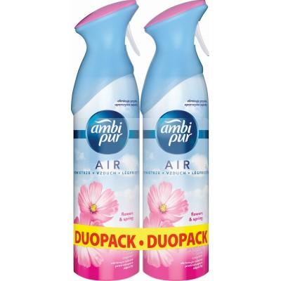 Ambi Pur Air Spray Duo Flowers&Spring 2x300ml