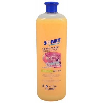 Sonet tekuté mýdlo s glycerínem Oranžovo medové 1 l
