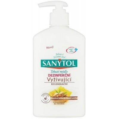 Sanytol tekuté mýdlo dezinfekční Mandlové mlého & Mateří kašička