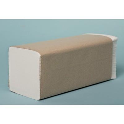 Papírový ručník skládaný 2vrstvy, 23x21cm,3000ks