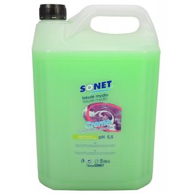 Sonet tekuté mýdlo s glycerínem Zelené Apple Olive 5 l