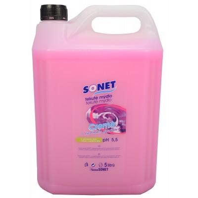Sonet tekuté mýdlo s glycerínem Růžové Rose 5 l