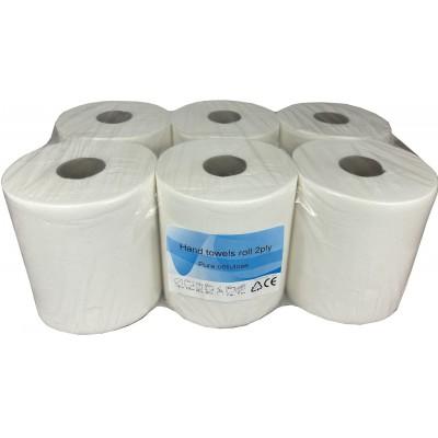 Papírový ručník v roli MAXI 2vrstvý 100% celulóza bez potisku 110 m