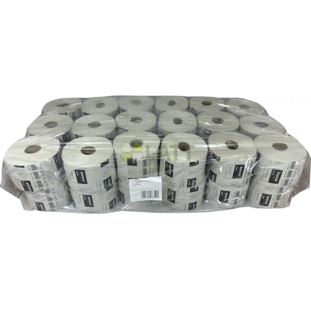 Toaletní papír Katrin Basic 490, 2vrstvý,  recykl, 36ks/bal 125409