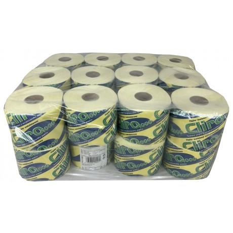 Toaletní papír Cliro Maxi 2. vrstvý žlutý