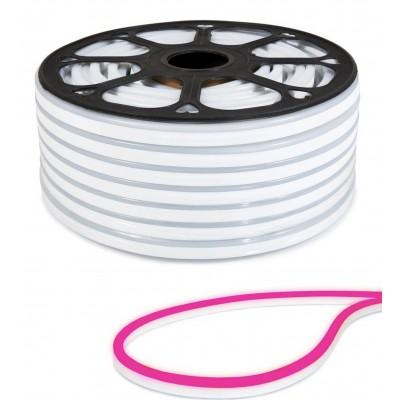 MILIO LED pásek NEON - 230V - 1m - 8W/m - IP65 - studená bílá