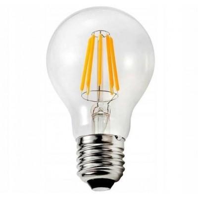 LED žárovka - E27 - 6W - 720Lm - teplá bílá