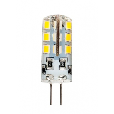 LED žárovka G4 - 3 W - 12V - teplá bílá