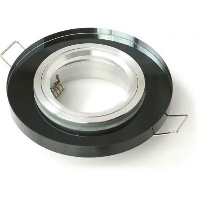Podhledové svítidlo GUFI-R - pevný - černý