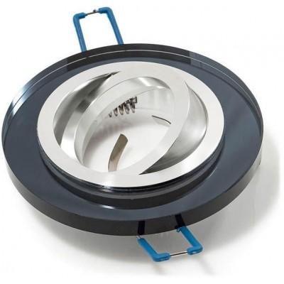 Podhledové svítidlo GUFI-R - pohyblivý - černý
