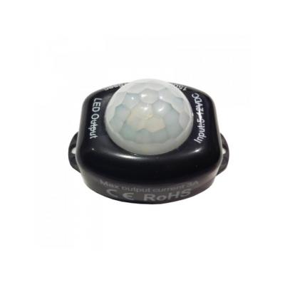 Pohybové čidlo MOBI MINI LED 12v - černé