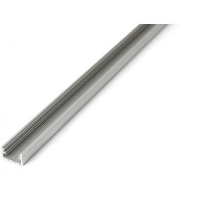 Povrchový profil A - eloxovaný - 2m - stříbrný