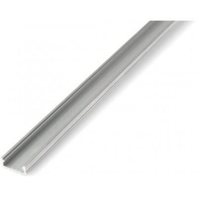 Povrchový profil D - 1m - stříbrný