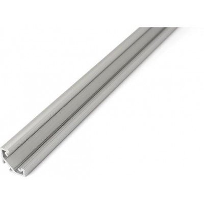 Profil C - 1 m - eloxovaný - stříbrný