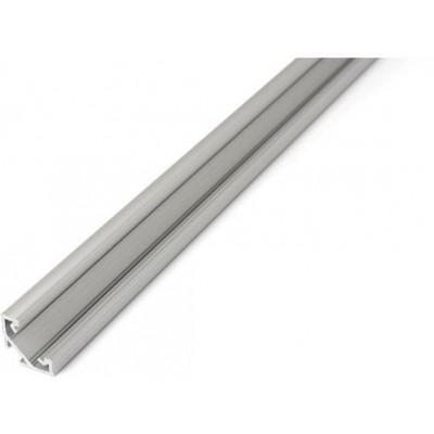 Profil C - 1 m - stříbrný