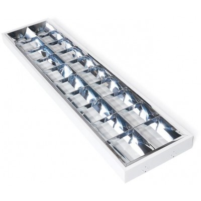 Rastrové LED svítidlo - 2x120 CM N/T