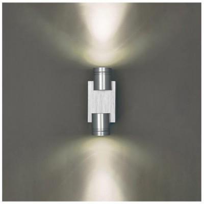 Svítidlo Kinkiet BESO DUO LED - 230V - 2x1W - stříbrné