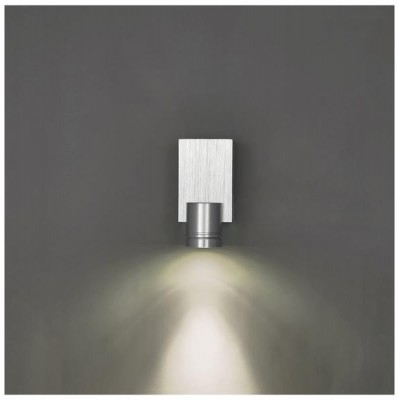 Svítidlo Kinkiet BESO LED - 230V - 1x1W - stříbrné