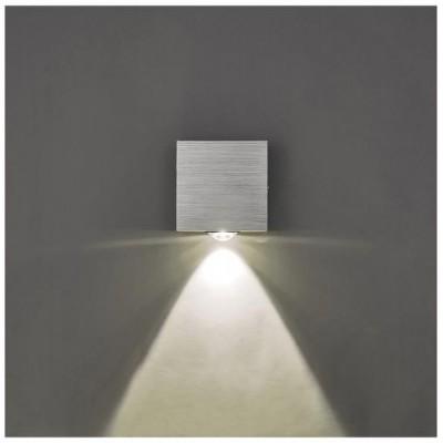 Svítidlo Kinkiet GRAND LED - 230V - 1x1W - stříbrné