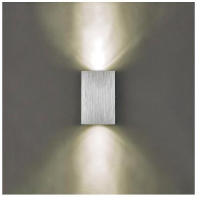 Svítidlo Kinkiet LARGO DUO LED - 230V - 2x1W - stříbrné