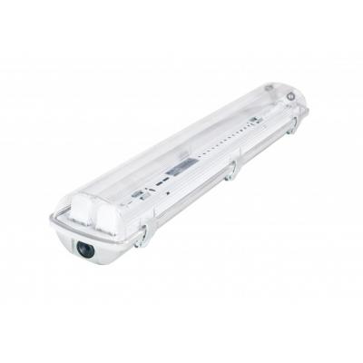 Svítidlo pro LED trubice T8 s odrazovou plochou - 2x60 cm - IP65