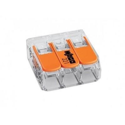 WAGO svorka compact 3 x 0,14 - 4mm 221-413