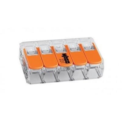 WAGO svorka compact 5 x 0,14 - 4mm 221-415