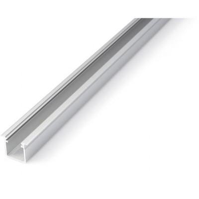 Zapuštěný profil G - 1 m - stříbrný