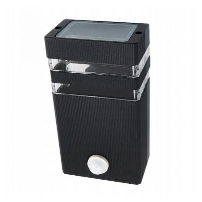 Fasádové svítidlo INEZ PIR 1xGU10 - černá