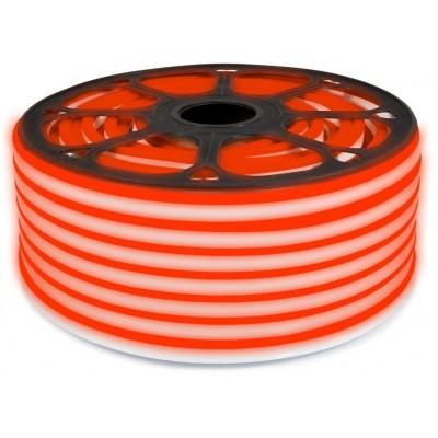 LED pásek NEON - 230V - 1m - 8W/m - IP65 - červená