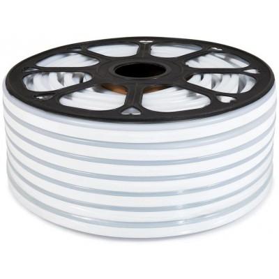 LED pásek NEON - 230V - 1m - 8W/m - IP65 - růžový