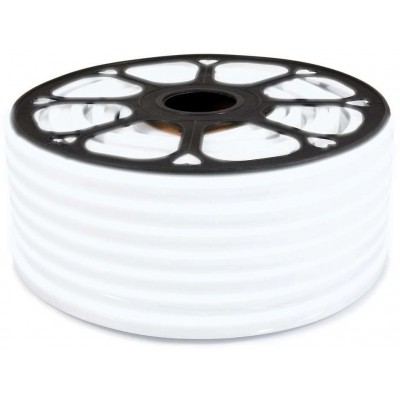 LED pásek NEON - 230V - 1m - 8W/m - IP65 - studená bílá