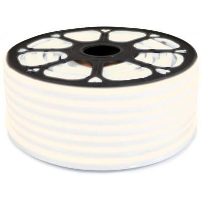 LED pásek NEON - 230V - 1m - 8W/m - IP65 - teplá bílá