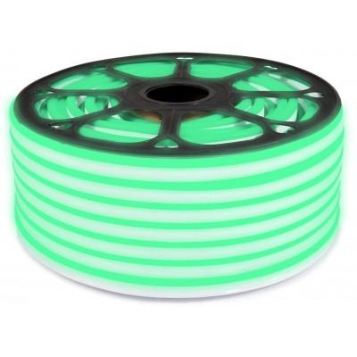 LED pásek NEON - 230V - 1m - 8W/m - IP65 - zelená