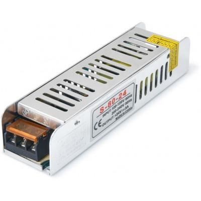 Napájecí zdroj modulový SLIM - IP20 - 24V - 80W