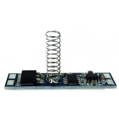 BERGE Dotykový stmívač pro LED pásky v profilu - 6A - 72W