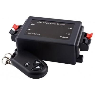 BERGE RF dálkové ovládání pro jednobarevné LED pásky 3528, 5050 bezdrátový