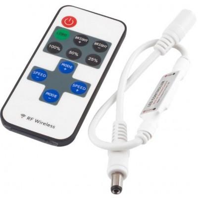 BERGE Stmívač K10 mono pro LED pásky a žárovky dálkové RF (radio) ovládání, 72W
