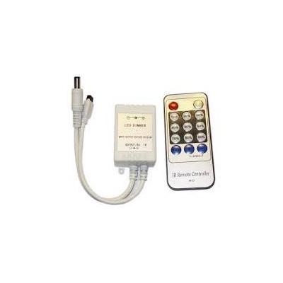 BERGE Stmívač pro LED pásky a žárovky, dálkové IR ovládání, 72W