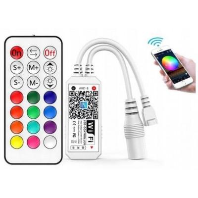 BERGE Dálkové ovládání Magic Home WiFi pro LED RGBW pásky (android, iOS)