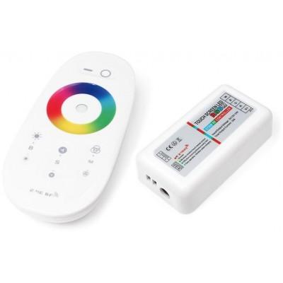 BERGE Dálkový dotykový ovladač pro LED pásky RGBW - 24A - 288W