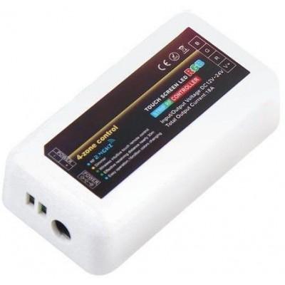 BERGE Přijímač dálkového ovládání RGBW 4 zóny - 288W - 5pin